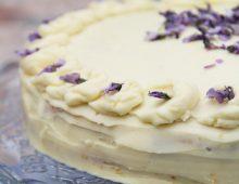 Narozeninový citronový dort