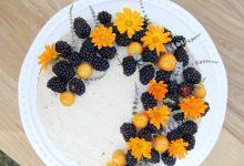 Letní cuketový dort